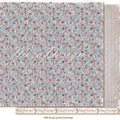 Maja Design Papier -Christmas Season Hang up the Stocking