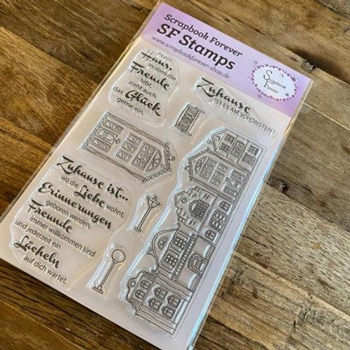 SF Stamps Zuhause ist es am Schönsten