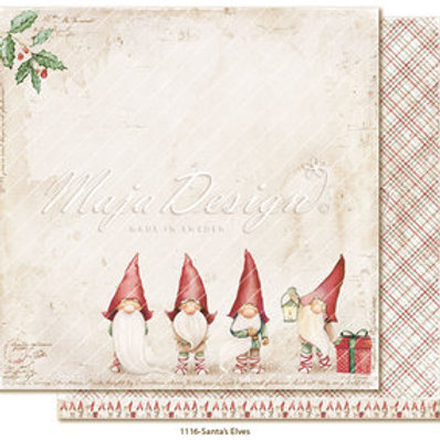 Maja Design Papier - Traditional Christmas  Santa´s Elves