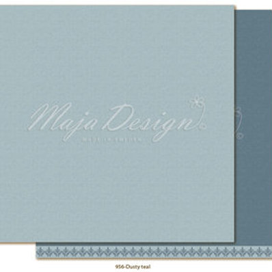 Uni Maja Design Papier - Monochromes - Shades of Winterdays - Dusty tea