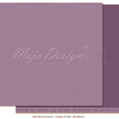 Uni Maja Design Papier - Monochromes-Shades of Café - Blackberry