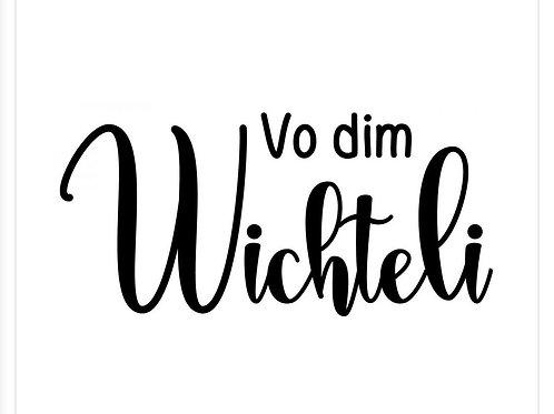Holzstempel by Isa Vo dim Wichteli 4x2cm