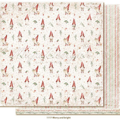 Maja Design Papier -Traditional Christmas - Merry and bright