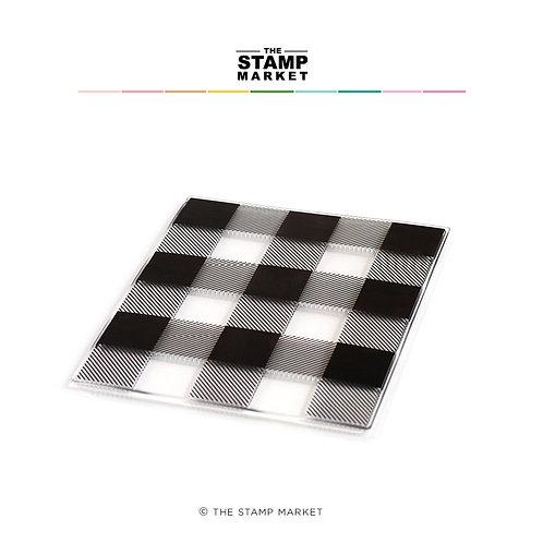 Clear Stamp BACKGROUND Quadrate  von The Stamp Market