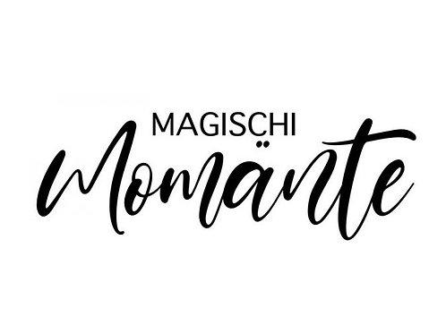 """Stempel by Isa """"Magischi Momänte"""" Mundart 8x3cm"""