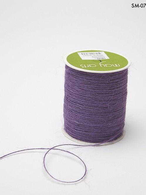 1 Rolle dünnes Juteband Lavender (364 Meter)