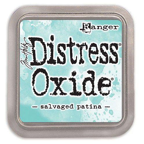 Stempelkissen Distress Oxide Salvaged Patina (2021)