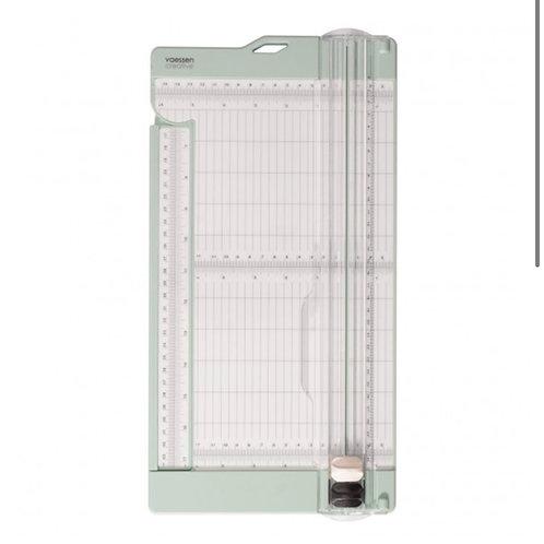 Vaessen Creative • Papierschneide- und Falzmaschine 15x30,5cm Minze