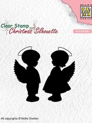 Clear Stamp Engel 5x 4,5cm