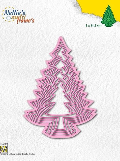 Stanzformen Weihnachtsbäume (5teilig)