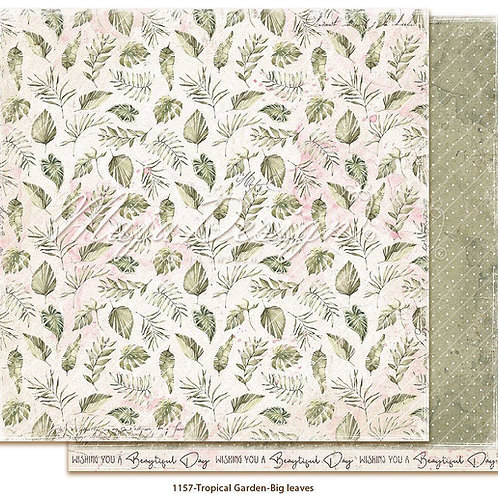 Maja Design Papier - Tropical Garden - Big leaves