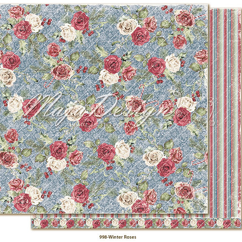 Maja Design Papier - Christmas Season Winter Roses
