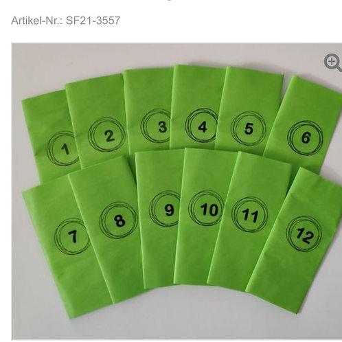 SF Stamps Adventskalender MOTIVE SILHOUETTE Tag 1 - 12