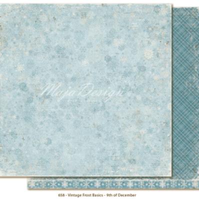 Maja Design Papier -  Vintage Frost Basics 9th of December