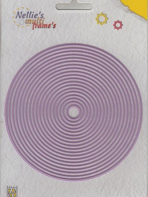 Stanzformen Kreise (19 Stück)