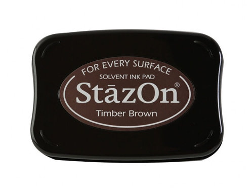 Stempelkissen StazOn Timber Brown