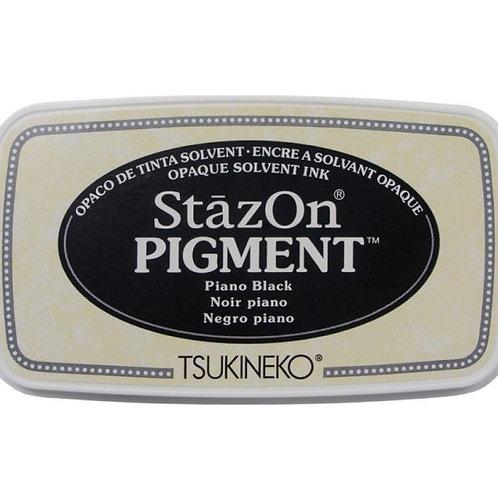 Stempelkissen StazOn Pigment, Piano Black