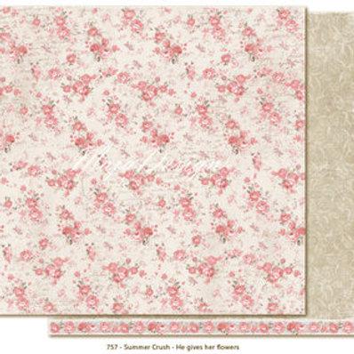 Maja Design Papier - Summer Crush He gives her flowers