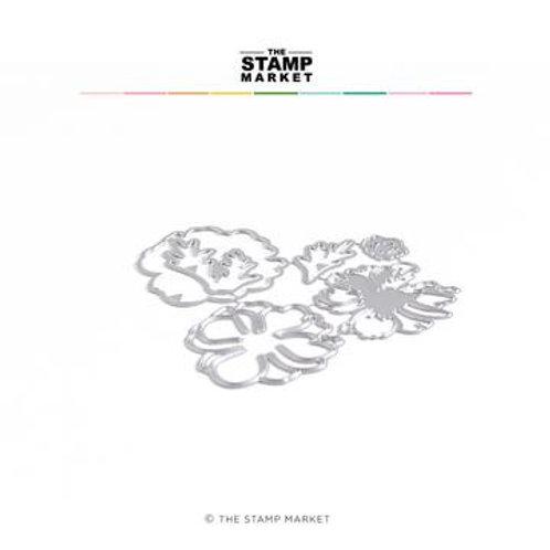 Stanzform  Anemone Lavering von The Stamp Market
