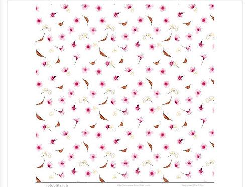 Designpapier Blätter Blüten fallend 167