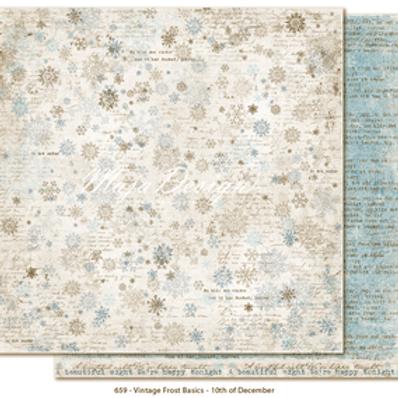 Maja Design Papier - Vintage Frost Basics 10th of December