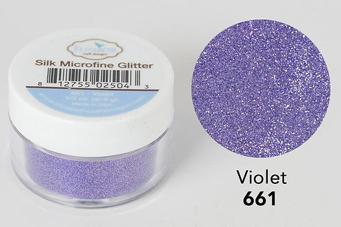 Microfine Glitter von Elitabeth Craft Violet