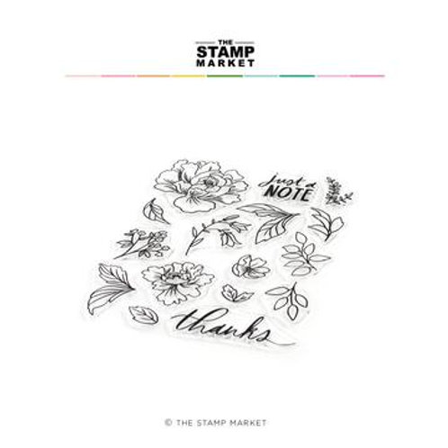 Clear Stamps Fabulous Florals von The Stamp Market