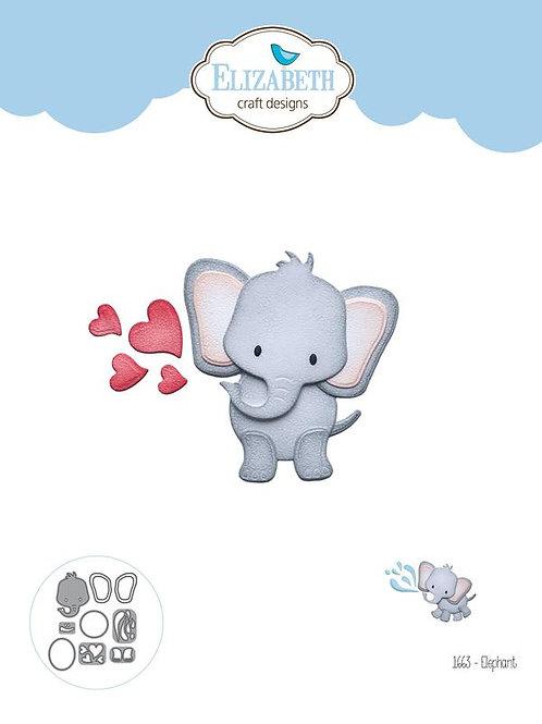 Elizabeth Craft Design Stanzformen Elefant