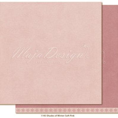 Uni Maja Design Papier -  Monochromes - Shades of Winter - Soft pink