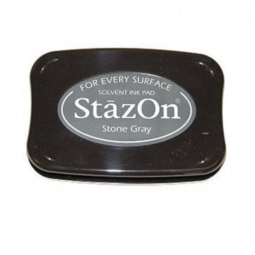 Stempelkissen StazOn Stone Gray