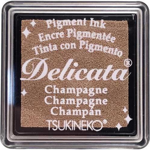 Stempelkissen mini (3x3cm) Champagne