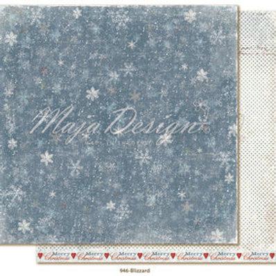 Maja Design Papier - Joyous Winterdays Blizzard