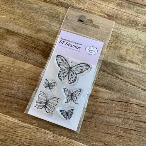 SF Stamps Schmetterlinge Mini