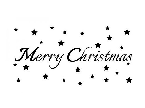 "Holzstempel Design by Susann ""Merry Christmas"""