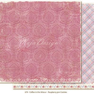 Maja Design Papier - Coffee in the Arbour - Raspberry jam co