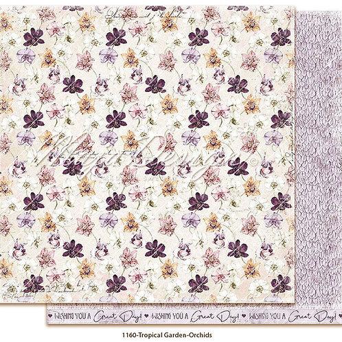 Maja Design Papier - Tropical Garden - Orchids