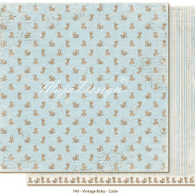 Kopie von Maja Design Papier - Vintage Baby - Cutie