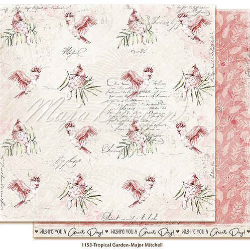Maja Design Papier - Tropical Garden - Major Mitchell