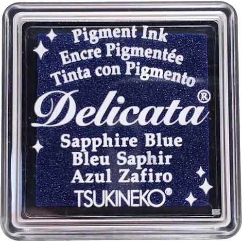 Stempelkissen mini (3x3cm) Delicata Sapphire Blue