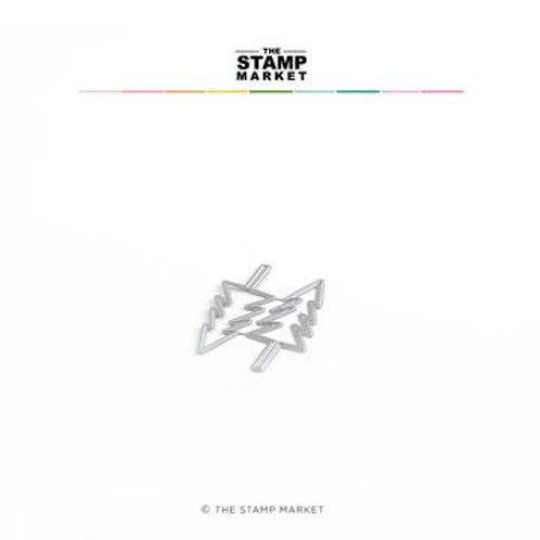 Stanzform Tannen von The Stamp Market 2er Set