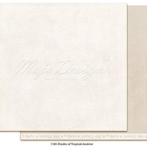 Uni Maja Design Papier -  Mono - Tropical - Jasmine