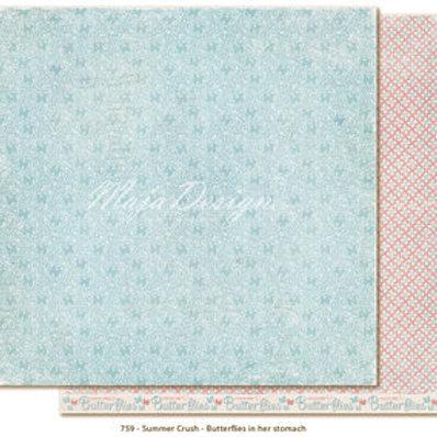 Maja Design Papier -Summer Crush Butterflies in her stomach