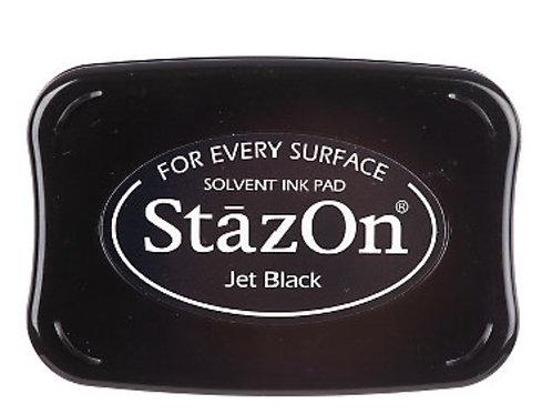 Stempelkissen StazOn Jet Black