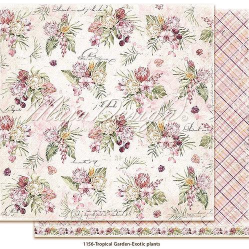 Maja Design Papier - Tropical Garden - Exotic plants