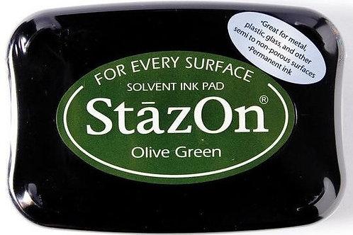 Stempelkissen StazOn Olive green