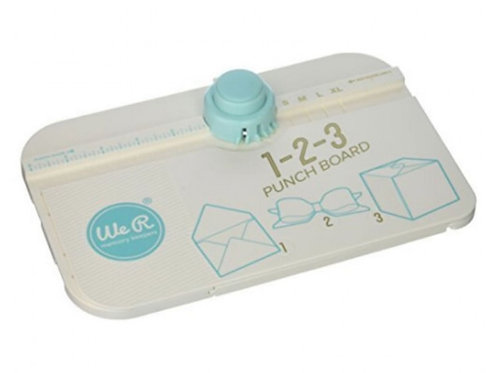 We R Envelope Punch Board 1,2,3