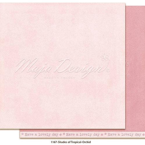 Uni Maja Design Papier - Mono - Tropical - Orchid