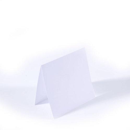 25 Klapp Karten 9x9 cm für Mini Kärtchen