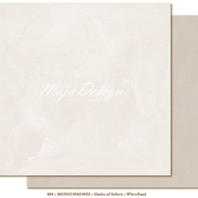 Uni Maja Design Papier -  Monochromes - Shades of Sofiero - White/Sand