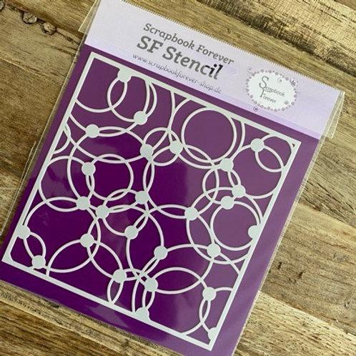 SF Stencil Kringel und Punkte